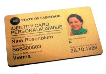 State of Sabotage SoS Identity Card